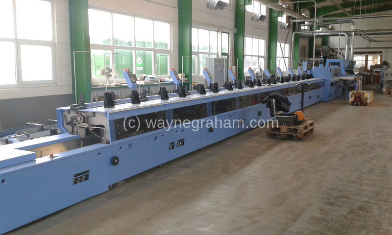 Image of Used Muller Martini Alegro Perfect Binding Line