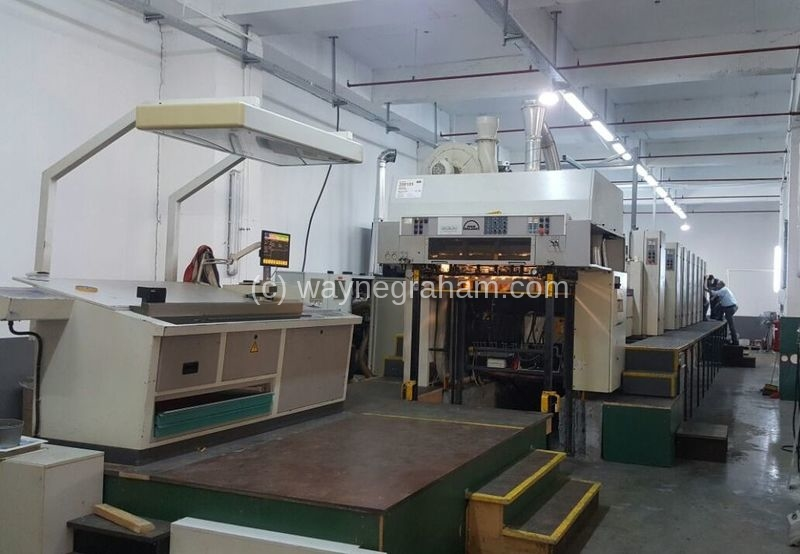 Image of Used Roland 706 3B LTLV Six Colour Printing Press With Two Coating Units