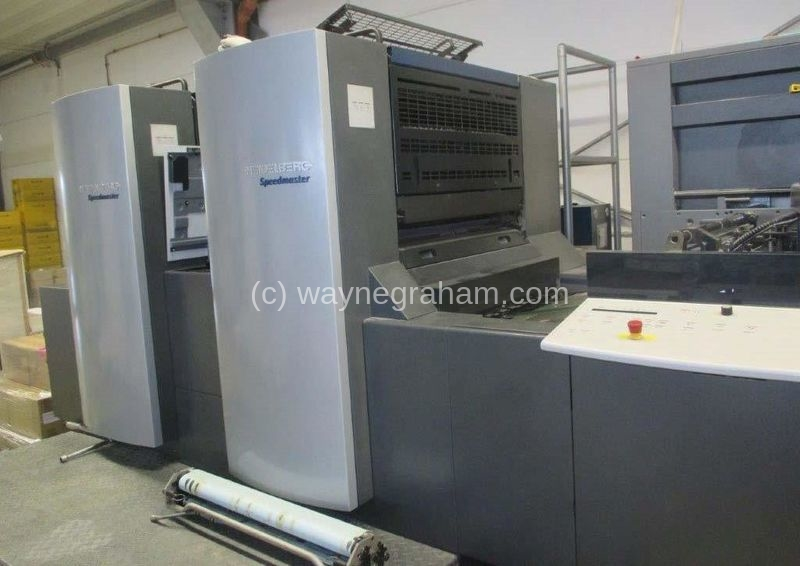 Image of Used Heidelberg Speedmaster 74-2-P Two Colour Printing Press