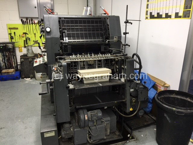 Image of Used Heidelberg GTOZP 52 Two Colour Printing Press