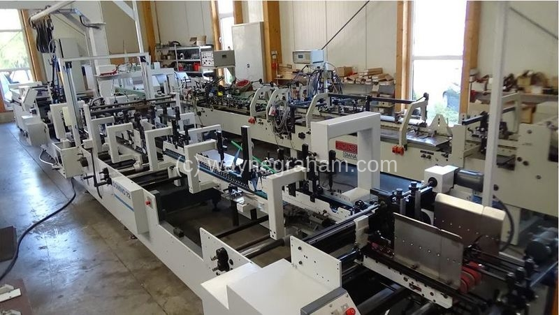 Image of Used Bobst Domino 72 Folding Carton Gluer