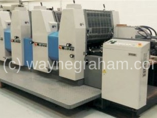 Image of Used Ryobi 524 HXX Four Colour Printing Press