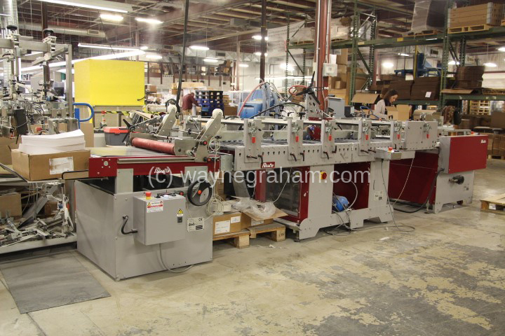 Image of Used Petratto Metro 78-2.5 Folding Carton Gluer