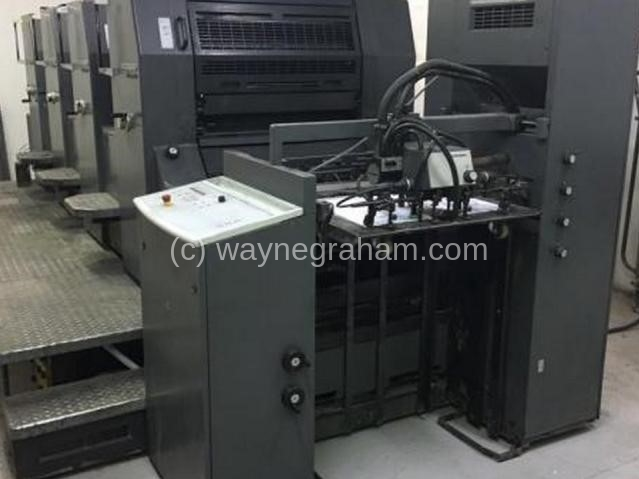 Image of Used Heidelberg Printmaster 74-4 Four Colour Printing Press