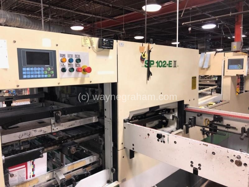 Image of Used Bobst SP 102-E II Die Cutter With Stripping Unit
