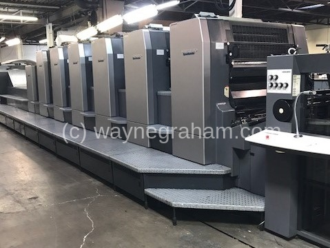 Image of Used Heidelberg SM CD 102-6-LX Six Colour Printing Press With Coating Unit And Interdeck UV Drying