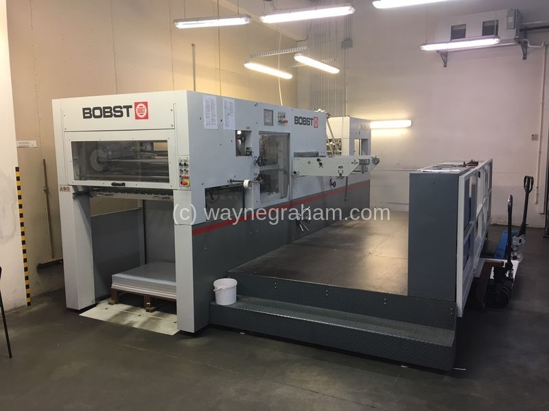 Image of Used Bobst Novacut 106 Die Cutter