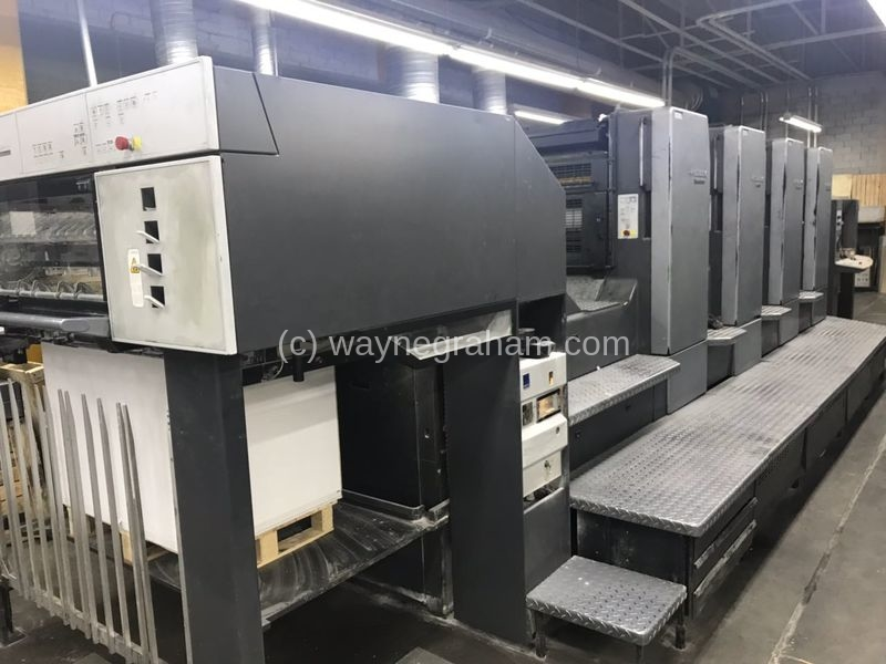 Image of Used Heidelberg Speedmaster CD 102-4 Four Colour Printing Press