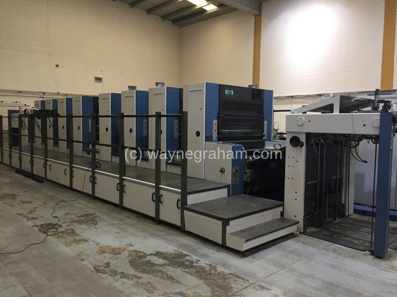 Image of Used KBA Rapida 105-8 Eight Colour Printing Press