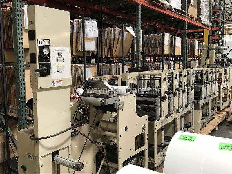 Image of Used Mark Andy 2200 Label Web Press
