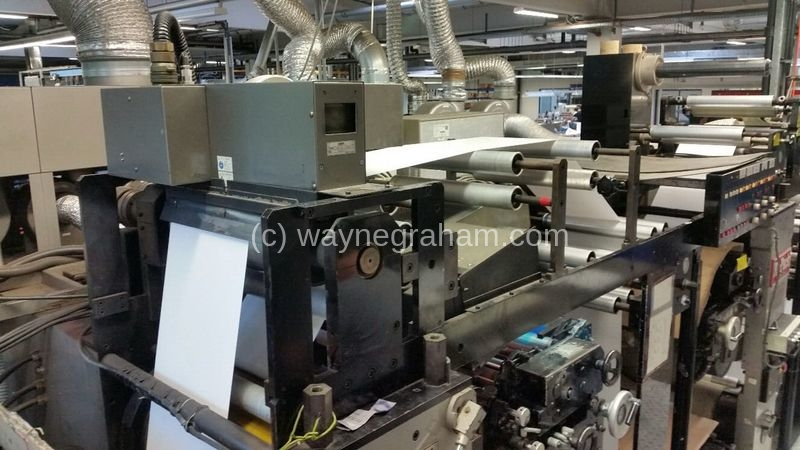 Image of Used Ko-Pack 400 Flexographic Label Web Press
