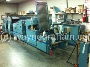 Image of Used Rotatek RK 300 Continuous Business Forms Web Press