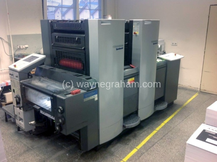 Image of Used Heidelberg SM 52-2-P Two Colour Printing Press