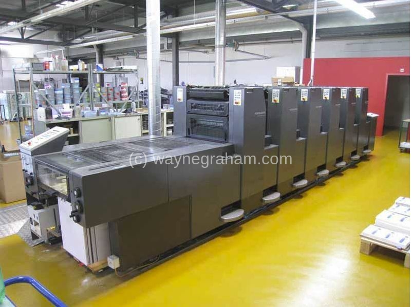Image of Used Heidelberg Speedmaster 52-6-H Six Colour Printing Press