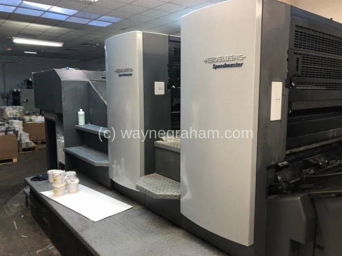 Image of Used Heidelberg Speedmaster 102-2 Two Colour Printing Press